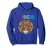 I Love Music Dancer Retro Vintage Disco Ball Disco Gift T Shirt Hoodie Royal Blue
