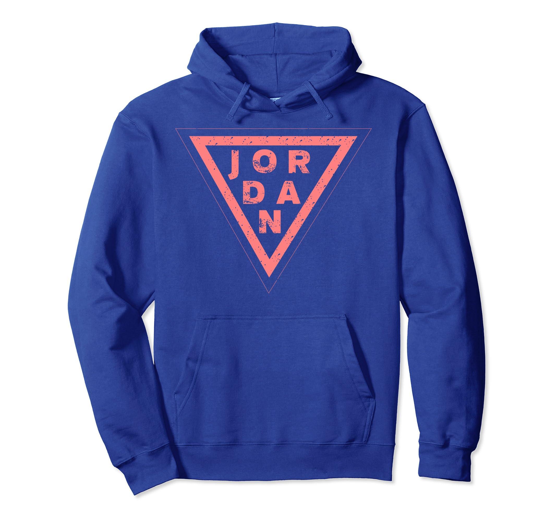 8cd2825886cd3b Amazon.com  Simple Vintage Style Jordan Hoodie Gift  Clothing