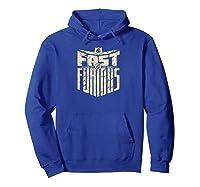 Fast Furious Cool Shield Logo Ted Shirts Hoodie Royal Blue
