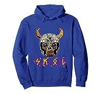 Skol Viking Shirts Hoodie Royal Blue