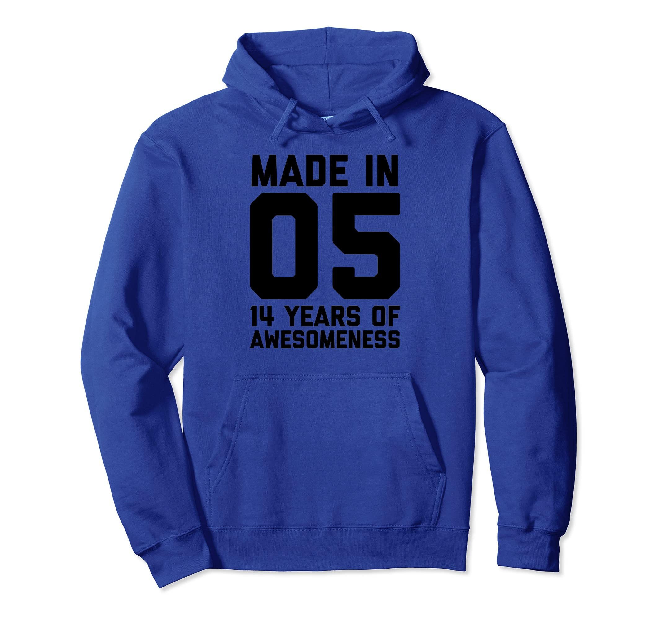 Amazon 14th Birthday Hoodie Boys Fourteen Gift Age 14 Year Old Girl Clothing