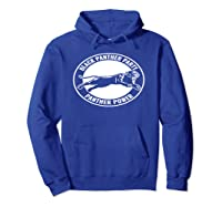 Black History Panther Party Shirts Hoodie Royal Blue