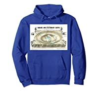Flat Earth Map Science Denial Ts Shirts Hoodie Royal Blue
