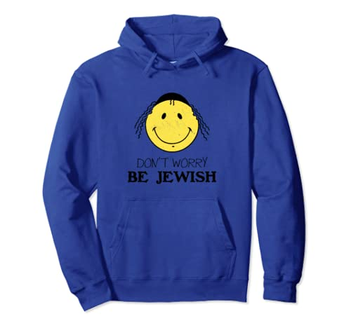 Be Happy Be Breslov Funny Humor Rosh Hashanah Uman Pullover Hoodie
