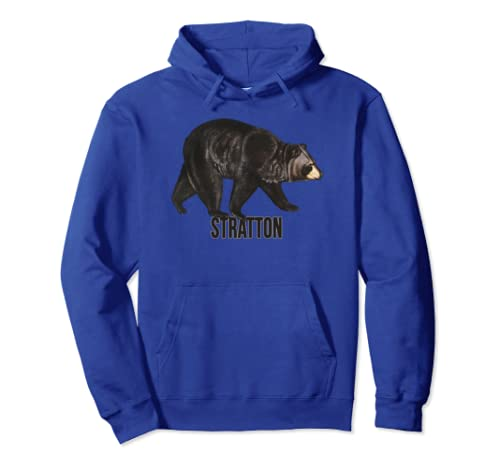 Stratton, Vermont Black Bear Product Pullover Hoodie