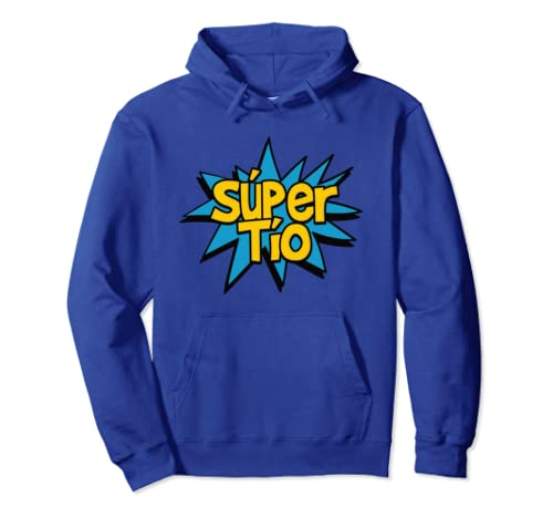 Amazon.com: Super Tio - Spanish Uncle Comic Book Hero Hoodie Sweatshirt: Clothing
