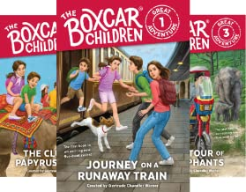 The Boxcar Children Great Adventure (5 Book Series)