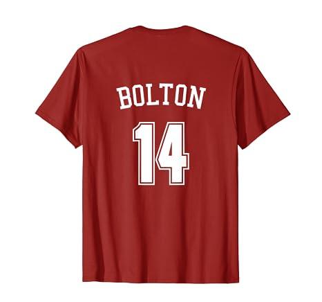 Amazon.com  Wildcats 14 Bolton T-Shirt  Clothing 7cbb91cc0