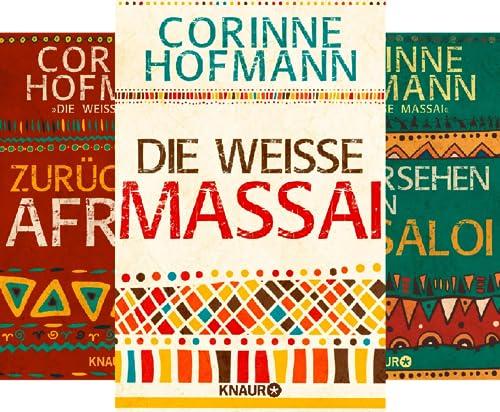 Die weisse Massai / Afrika (Reihe in 4 Bänden)