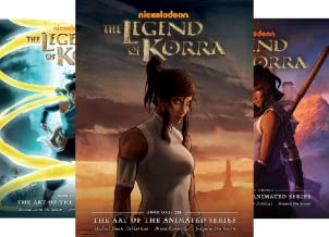 The Legend of Korra - The Art of the Animated Series (4 Book Series)