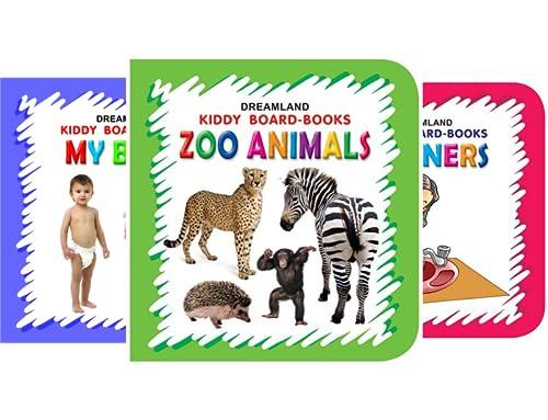 Kiddy Board Book (10 Book Series)