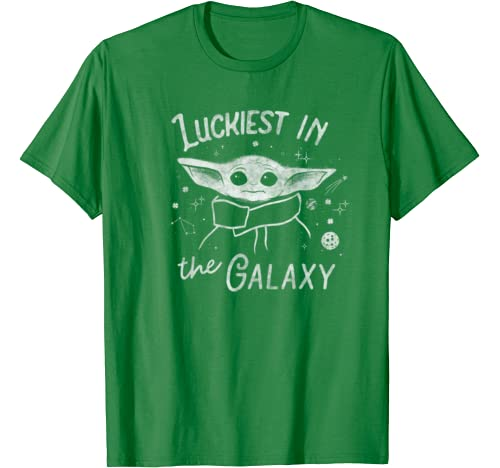 Star Wars The Mandalorian The Child Luckiest In The Galaxy T Shirt