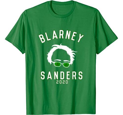 Blarney Sanders Funny Bernie St. Patrick's Day T Shirt
