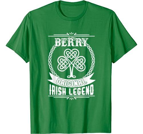 Berry Original Irish Legend St Patricks Day T Shirt