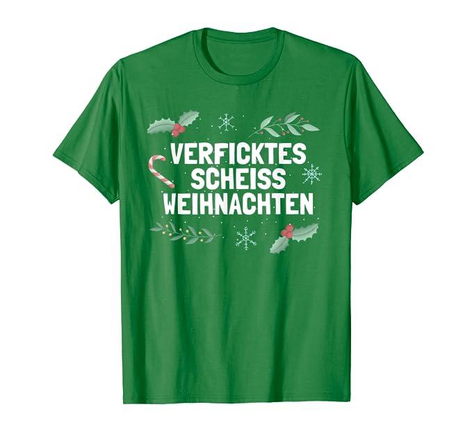 Sprüche Anti Weihnachten.Anti Weihnachtsshirt Ironie Scheiss Weihnachten T Shirt