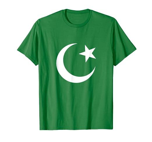 Pakistan Independence Day Shirt Patriotic Flag Crescent Moon