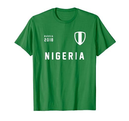 new arrival dcfd7 fe3a2 Nigeria football t-shirt | Super Eagles jersey 2018 | Russia