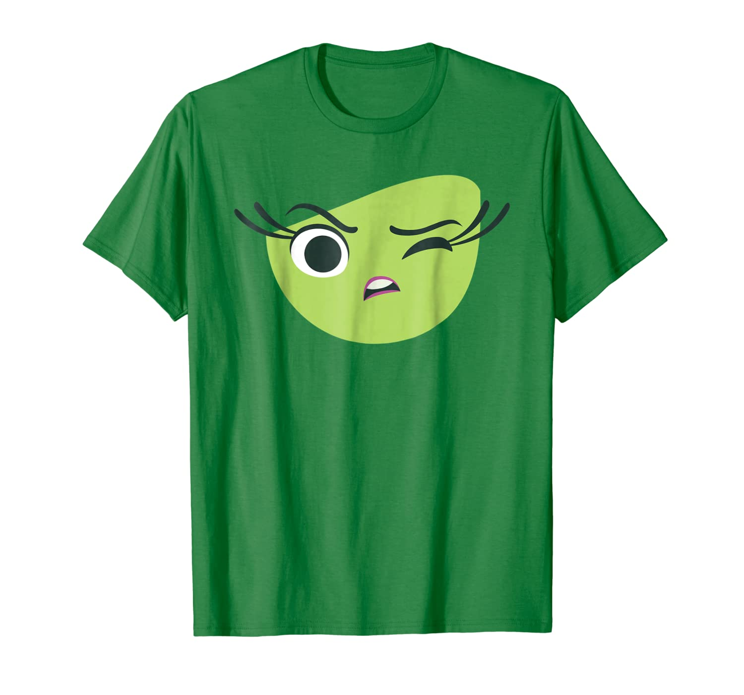 Disney Pixar Inside Out Disgust Halloween Graphic T-Shirt