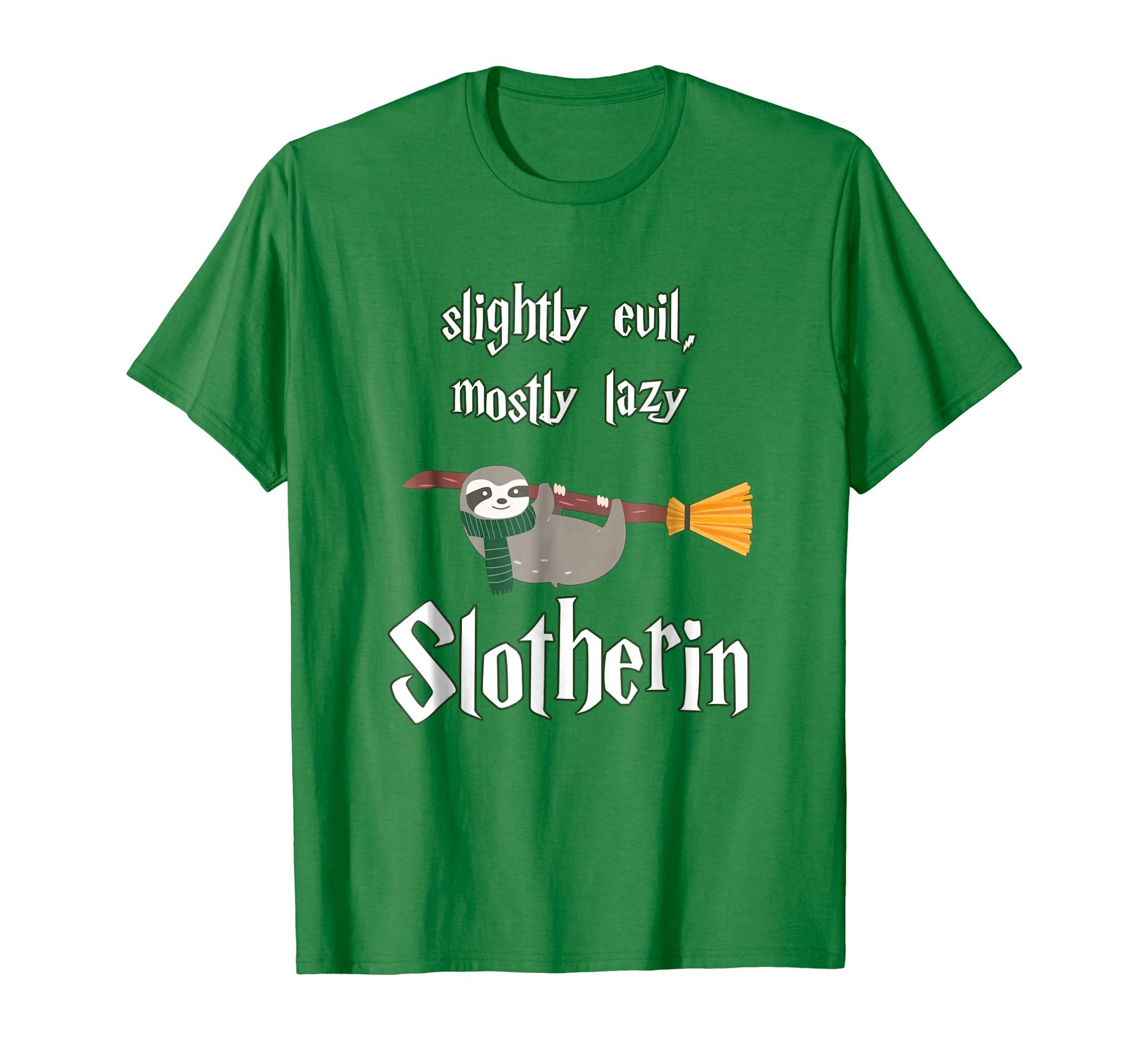 Slotherin Lazy Evil Sloth T Shirt