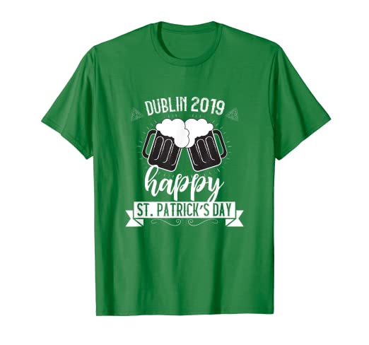 Amazon.com  Beer Pitchers Day Drinking St. Pat s T-Shirt  Clothing 1c4e7660f9