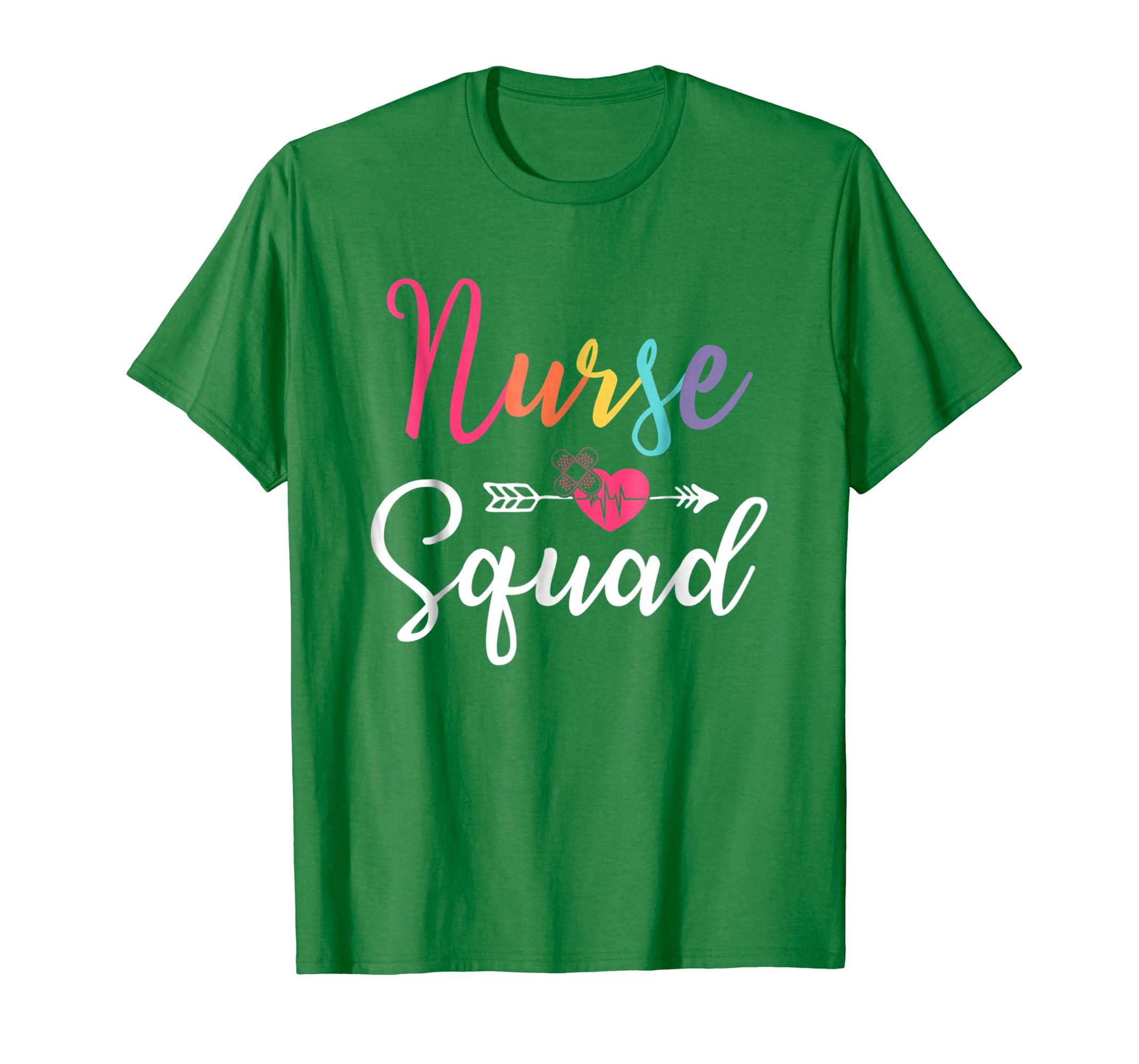 Nurse Squad Funny Nursing T-Shirt-Newstyleth