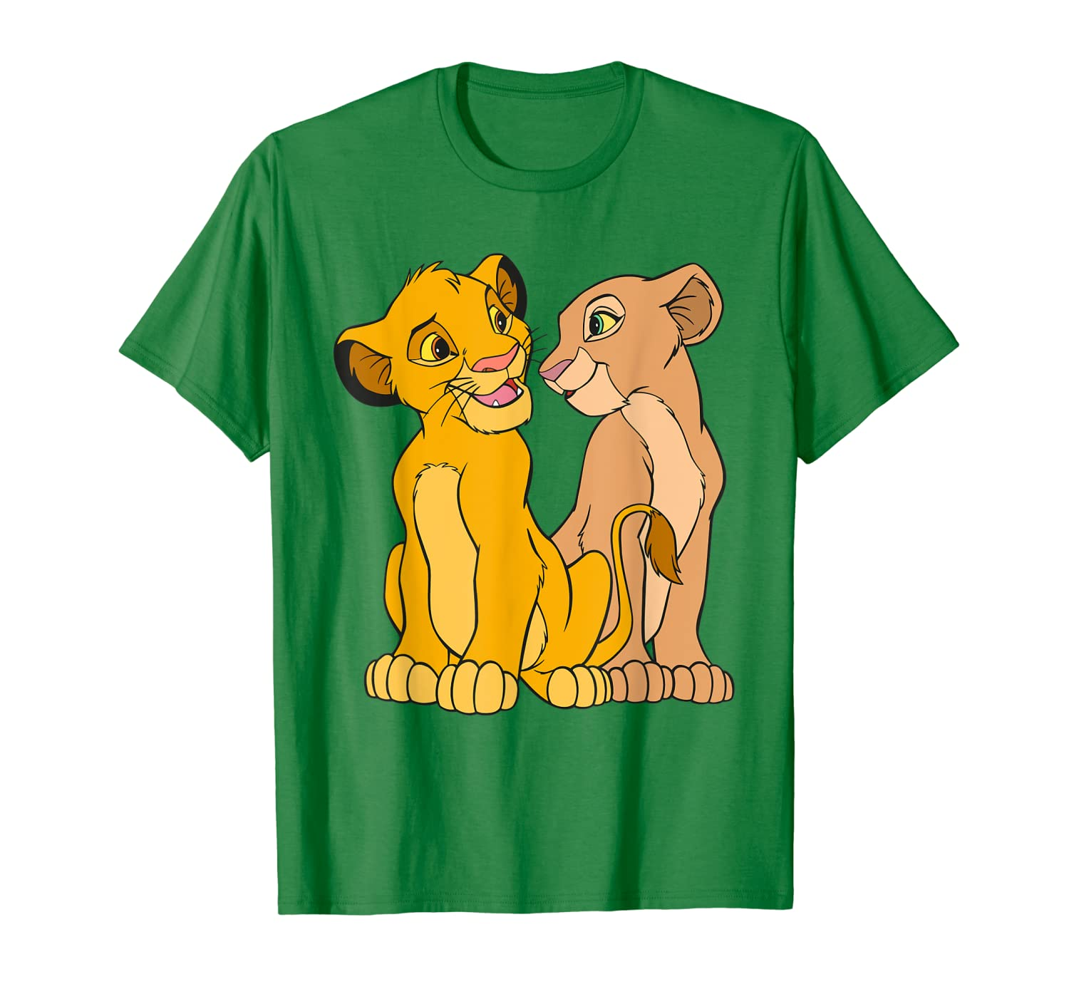 Disney The Lion King Young Simba and Nala Together T-Shirt