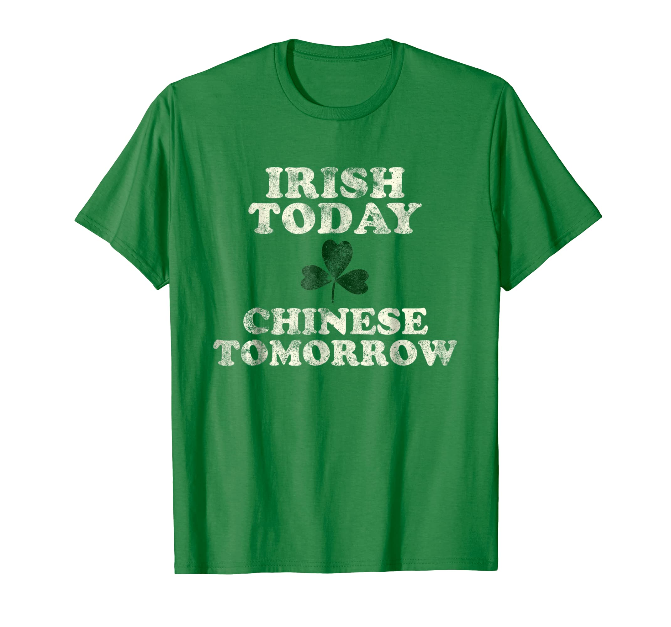 9f4848e720 Amazon.com: Funny Chinese Irish St. Patrick's Day Shirt China Asia: Clothing