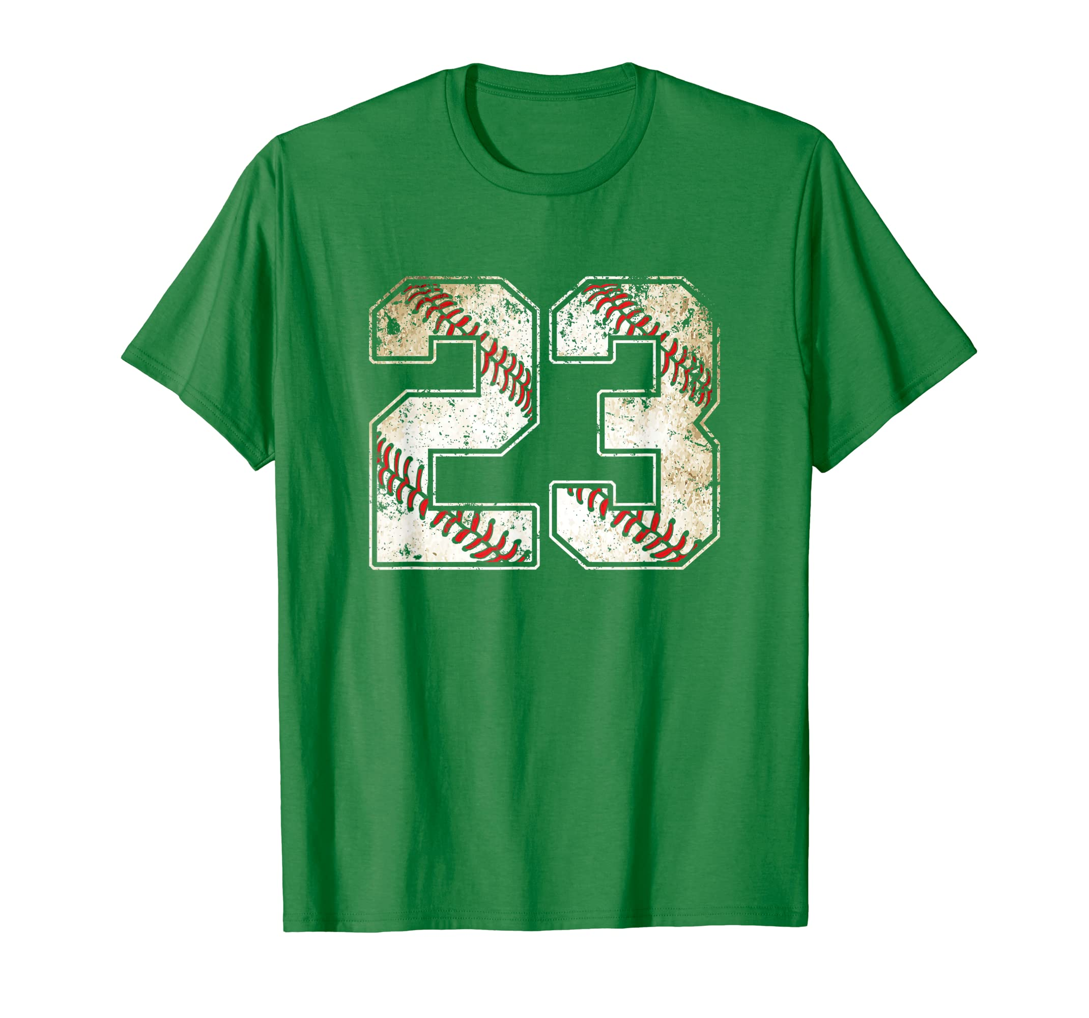 cf704f425 23 Baseball Jersey Number 23 Retro Vintage T-Shirt | AstraWork- Cool ...