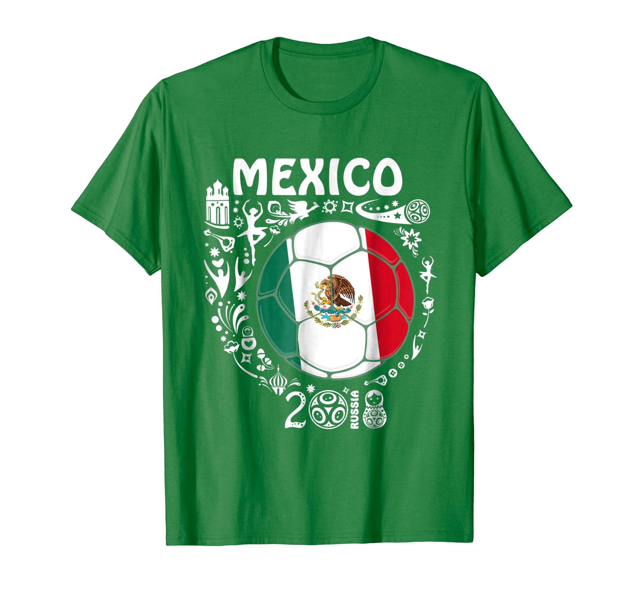 645f1ffc4 Mexico Jersey T Shirt 2018 Soccer Team men women kids-prm – Paramatee