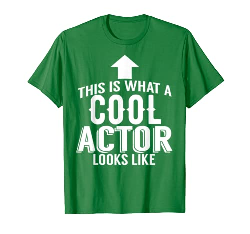 Actor Funny Gift – This Is What A Cool Actor Looks Like T-Shirt