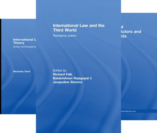 Routledge Research in International Law (50 Book Series)