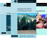 Ecology, Biodiversity and Conservation (36 Book Series)