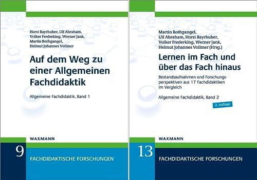 Fachdidaktische Forschungen (Reihe in 2 Bänden)