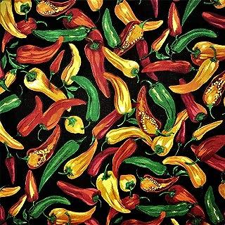 Best hot pepper fabric Reviews