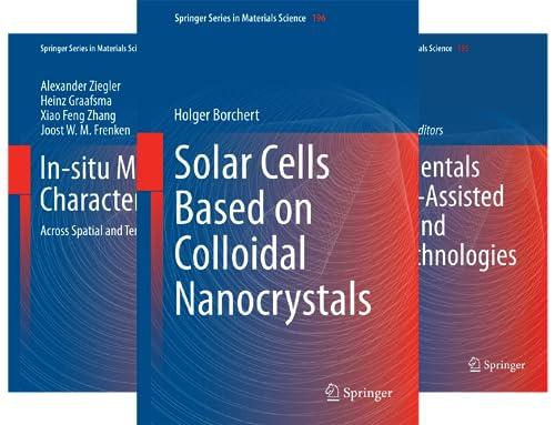 Springer Series in Materials Science (101-150) (50 Book Series)