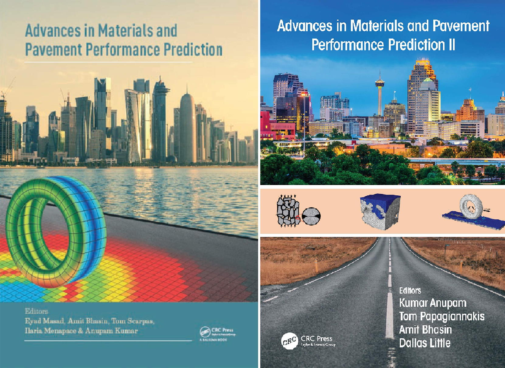 Advances in Materials and Pavement Performance Prediction (2 Book Series)