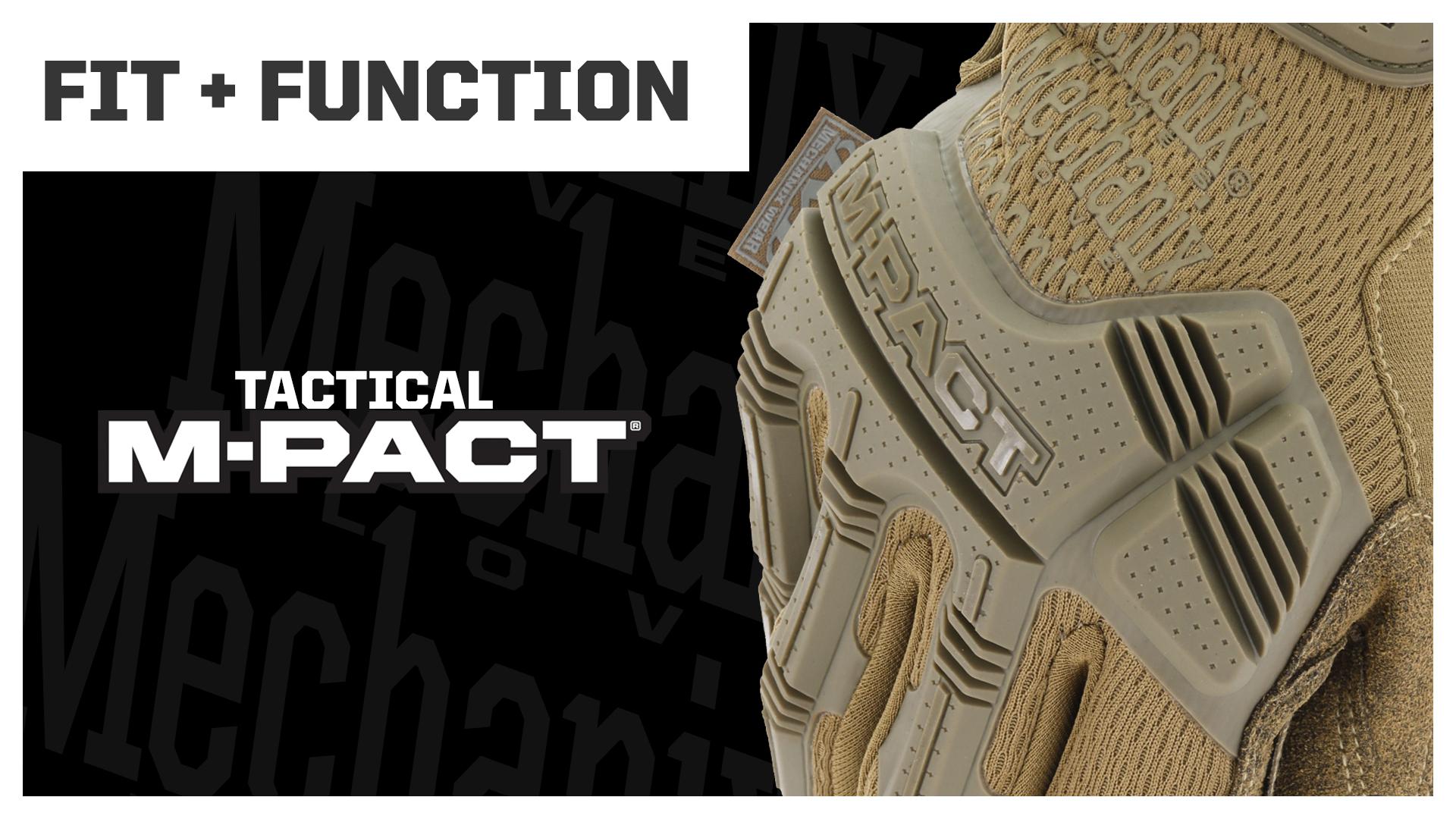 Mechanix Wear: M-Pact Covert Tactical Work Gloves (Medium, All Black)