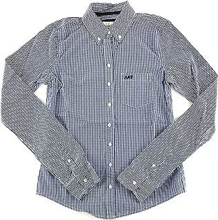 Women's Long Sleeve Woven Button Up Shirt