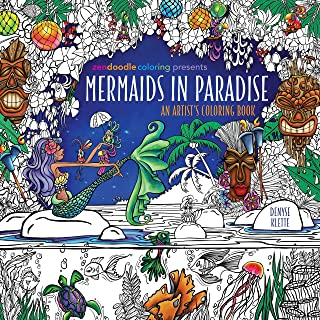 Zendoodle Coloring Presents Mermaids in Paradise: An Artist&