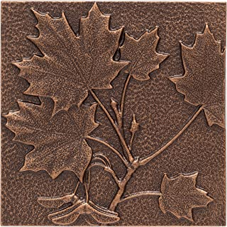 Whitehall Products Maple Leaf Wall Decor, Antique Copper