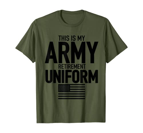 Army Retirement Uniform | Retired Army T Shirt