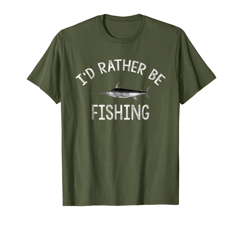 Id Rather Be Fishing T-Shirt LongSleeve Tee