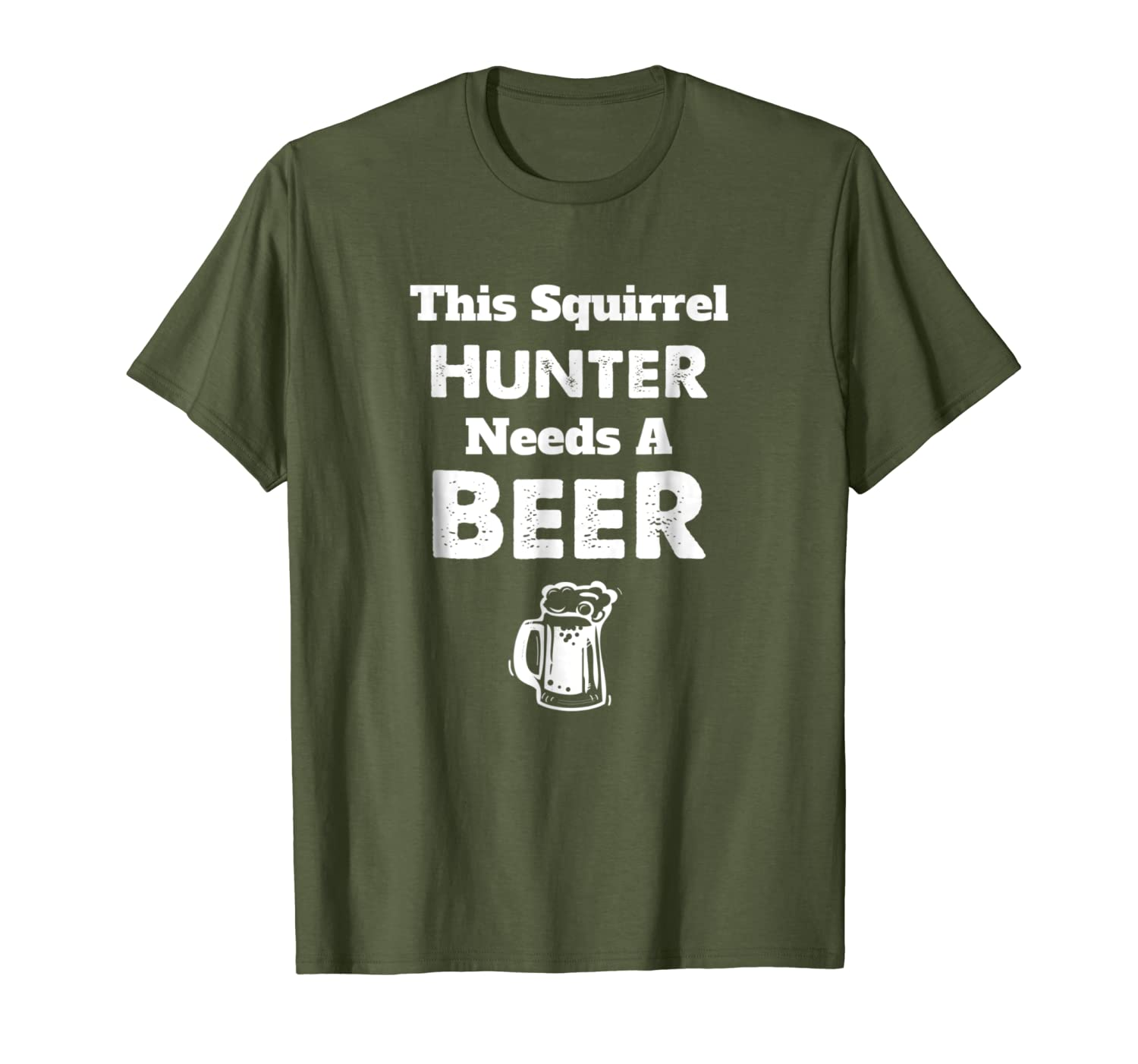 Funny Squirrel Hunting Hunter Hunt T Shirt - Season Gift Unisex Tshirt