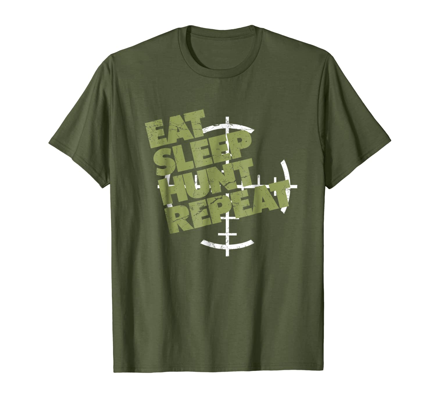 Hunting shirt Eat Sleep Hunt Repeat gift for hunters Unisex Tshirt