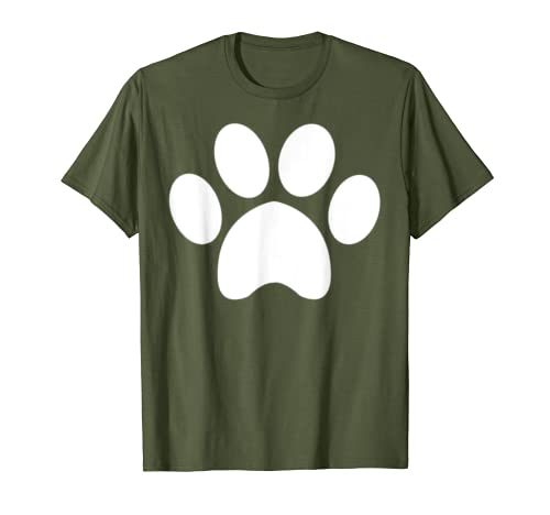 Animal Cat Dog Paw Print  Pet Lover Shirt Gift