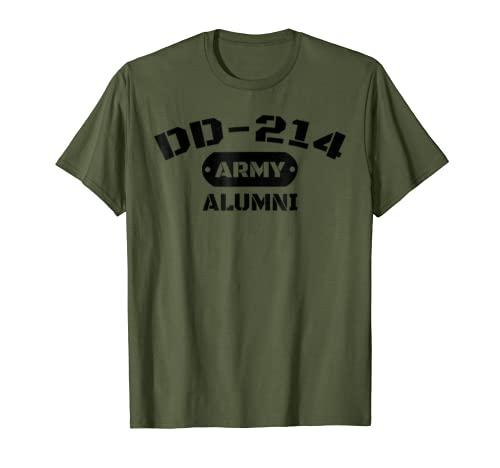 DD-214 US Army Alumni T-Shirt