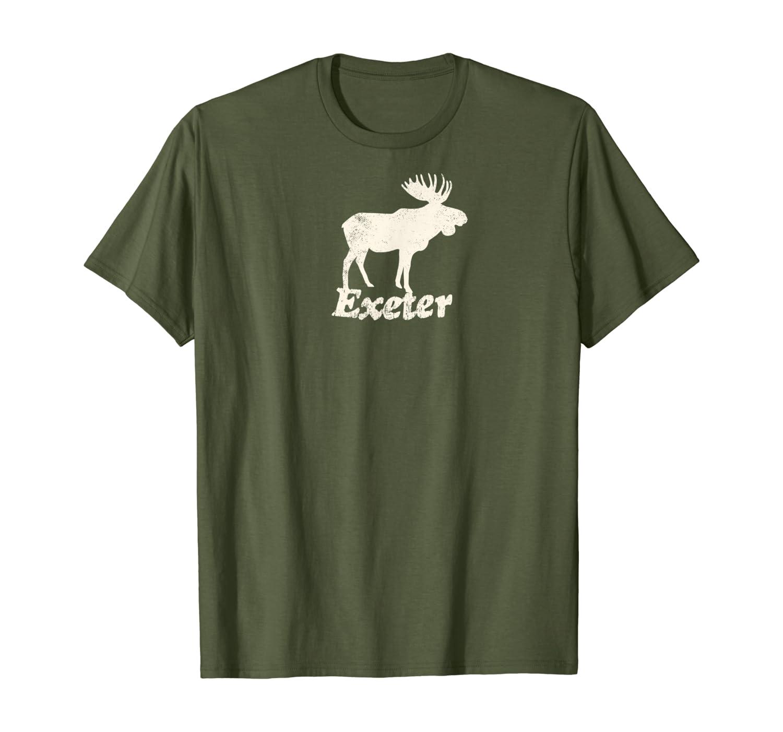 Amazon Com Exeter Nh Vacation Moose Product T Shirt Clothing