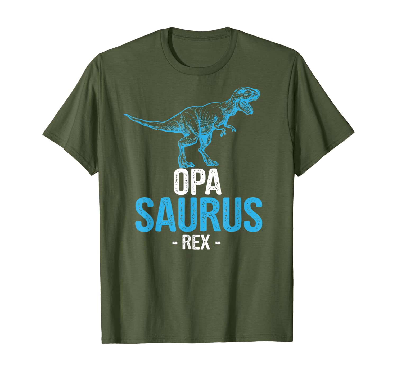 Funny Fathers Day Gift For Grandpa Opa Saurus Rex T-shirt - Dad Tshirt Up To 5xl