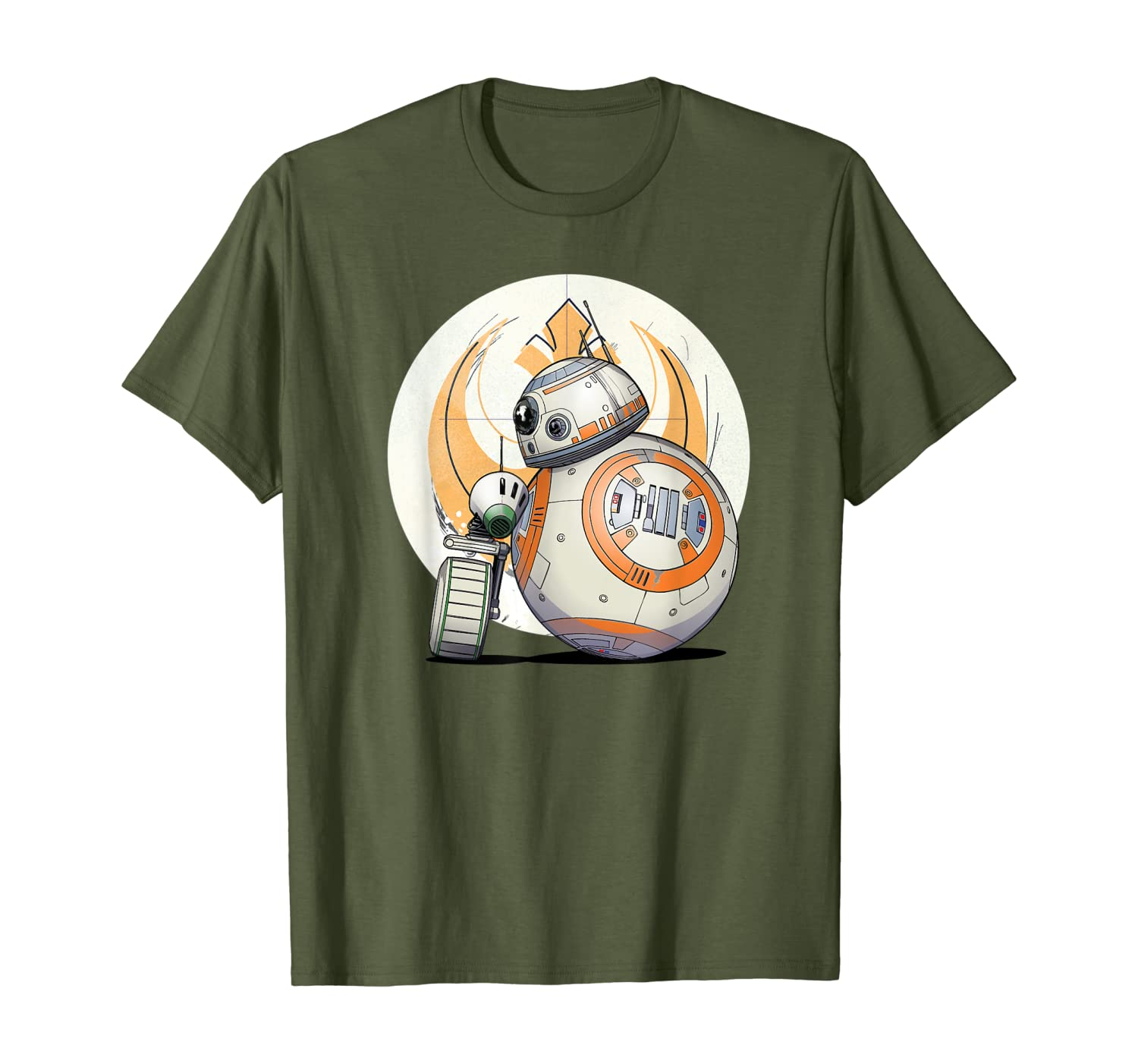 Amazon Com Star Wars The Rise Of Skywalker Bb 8 D O Droid Bff T Shirt Clothing