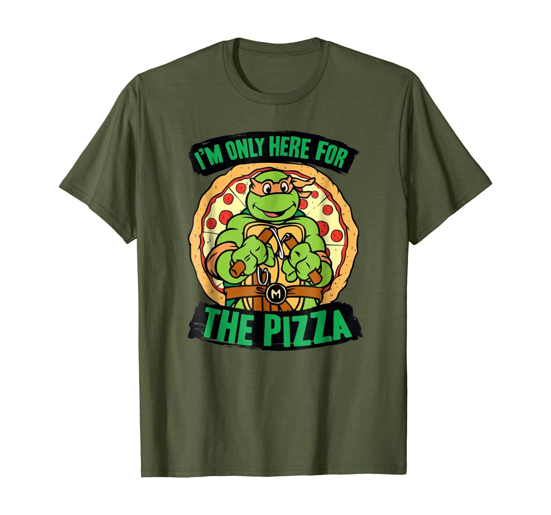 Teenage Mutant Ninja Turtles Here for Pizza T-shirt